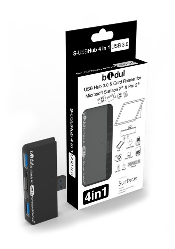 Bidul USB Hub 3.0 and Card Reader for Microsoft Surface 2 and Pro 2