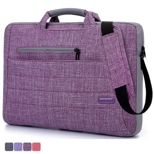 Laptop Bag For 15.6 Inch Laptop, BRINCH® Multi-functional Suit Fabric Portable Laptop Carrying Bag