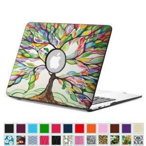 Fintie MacBook Air Cover, Premium Vegan Leather Coated Hard Shell Protective Case Cover