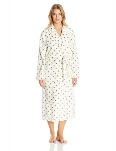 Nautica Sleepwear Women's Plus-Size Plush Robe