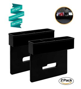 Vencer DIY Console Side Pocket Car Organizer